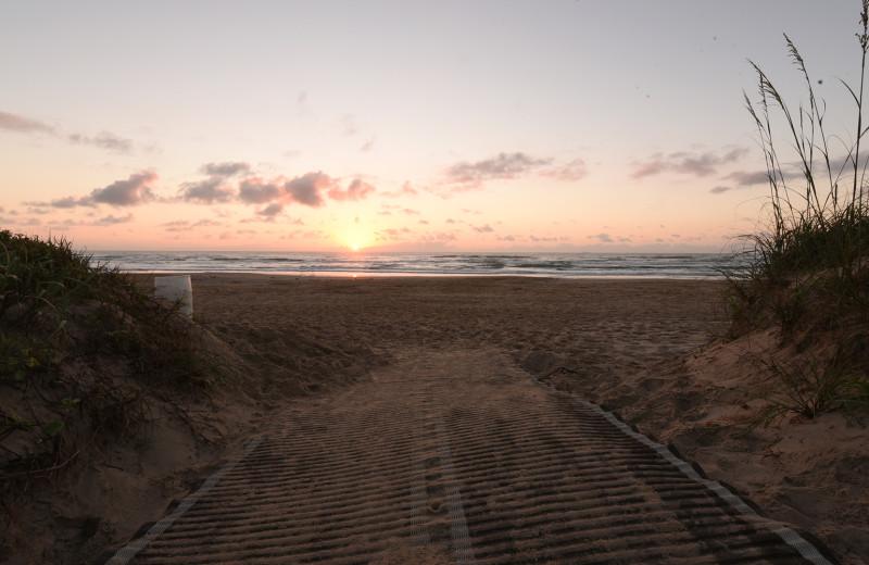 Beach at La Isla VR - South Padre.