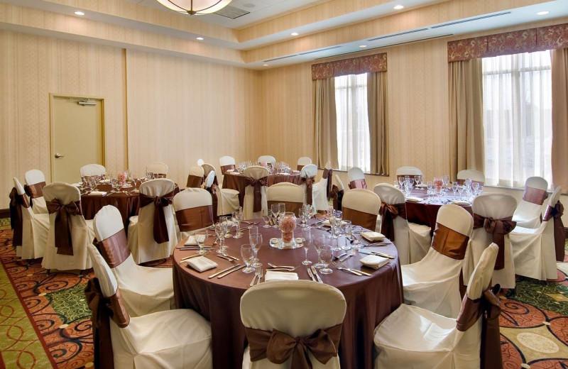 Reception at Hilton Garden Inn Cleveland East/Mayfield Village.