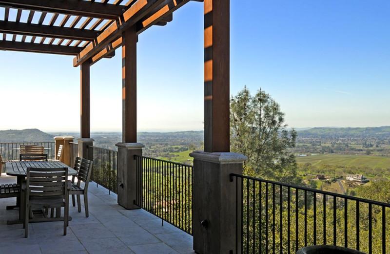 Rental balcony at Woodfield Properties.