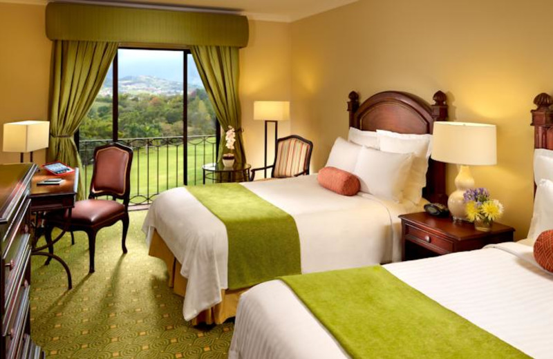 Guest room at Costa Rica Marriott Hotel.