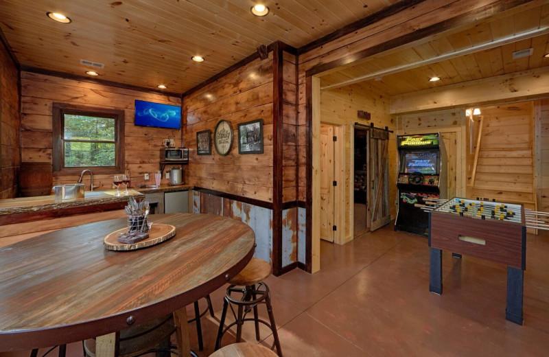 Rental kitchen at Elk Springs Resort.