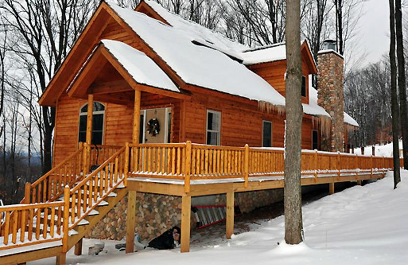 Vacation rental exterior at Timberline Mountain-Access Properties.
