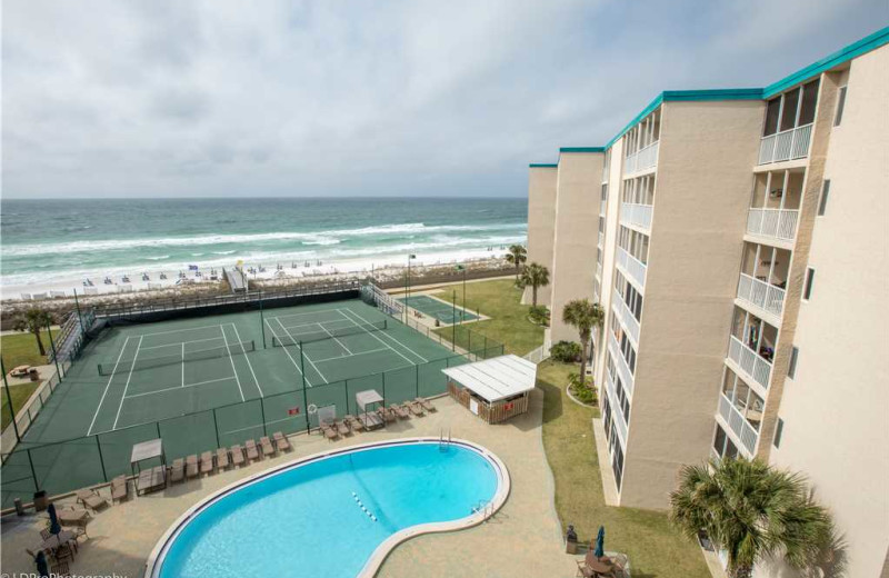 View from Holiday Isle Properties - Holiday Surf & Racquet 614.