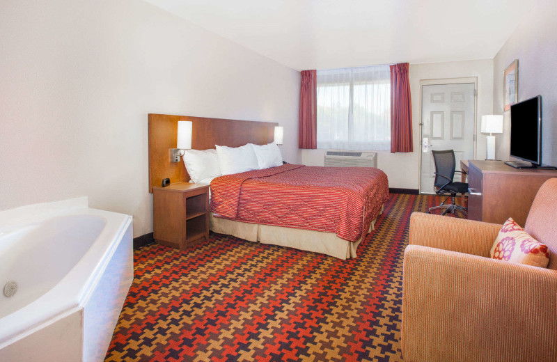 Guest room at Kokopelli Inn.