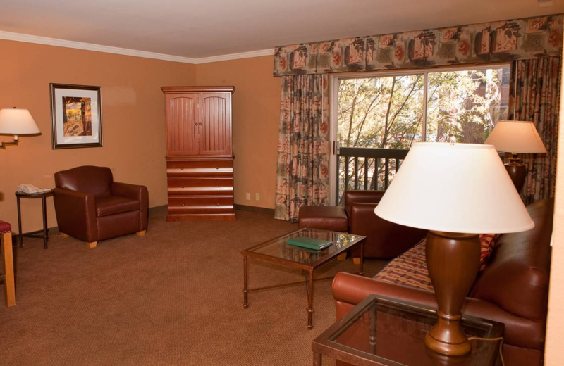 Guest Room at Forest Suites Resort