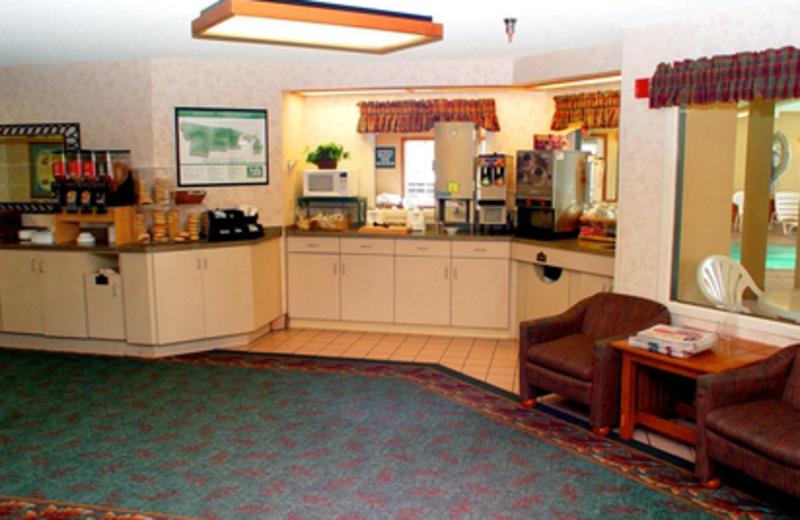 Lobby Area at Kelly Inn West Yellowstone Hotel