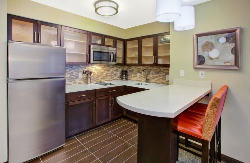 Guest kitchen at Staybridge Suites - Benton Harbor.