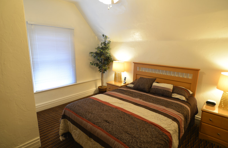 Bedroom - Large One Bedroom apartment suite at Friendship Suites.