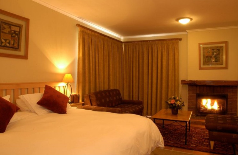 Guest room at Greenway Woods Golf Resort.