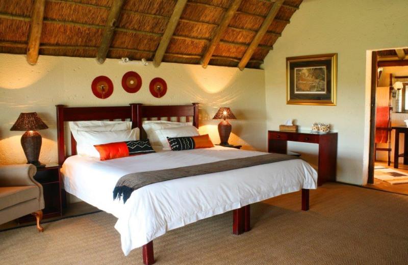 Guest room at Tilodi Wilderness.