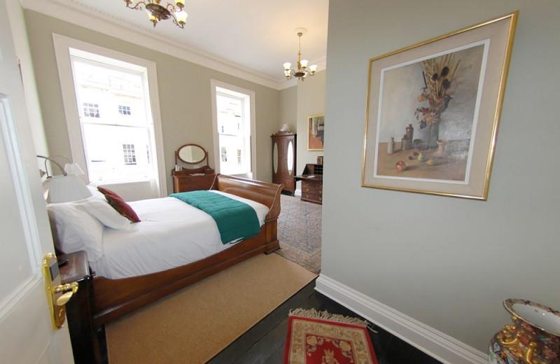 Guest room at Henrietta House.