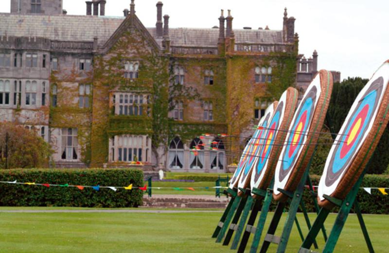 Archery range at Adare Manor Limerick.