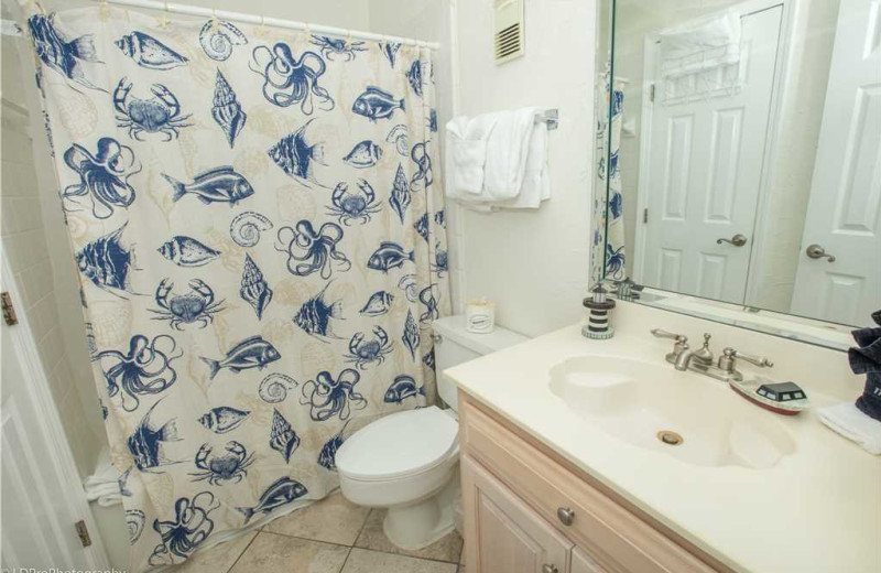 Bathroom at Holiday Isle Properties - Holiday Surf & Racquet 614.