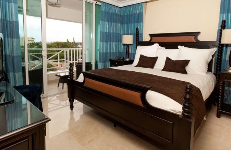 Guest room at Ocean Two Resort & Residences.