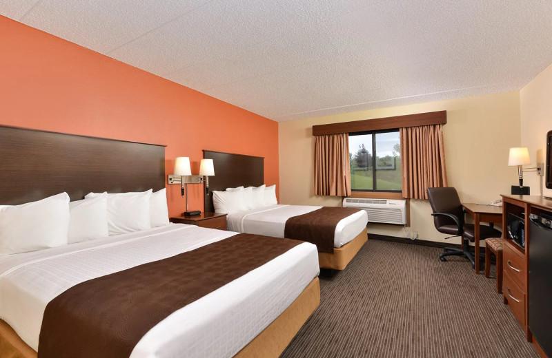 Guest room at AmericInn by Wyndham.