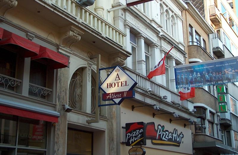 Exterior view of Hôtel Royal Albert.