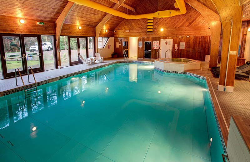 Indoor pool at Kingsmills Hotel.