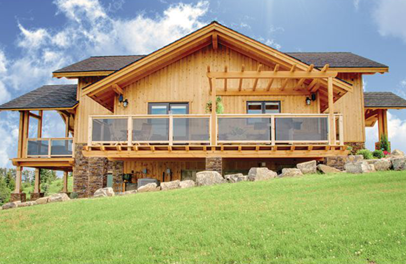 Exterior view of Purcell Lodge.