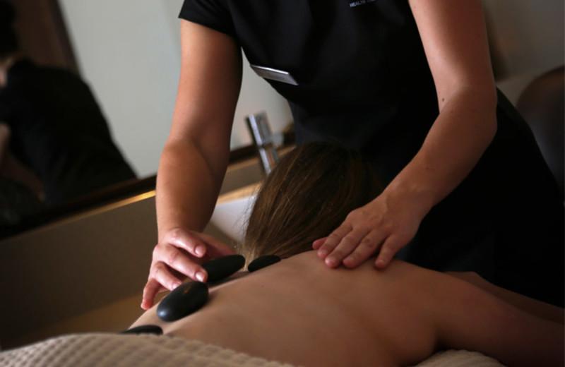 Stone massage at Macdonald Bath Spa.