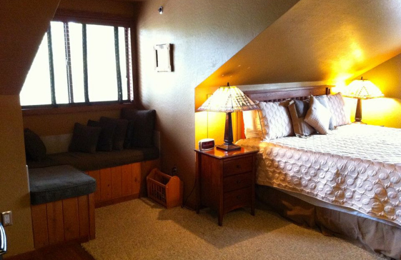 Guest room at Lodge At Sedona - A Luxury Bed and Breakfast Inn.