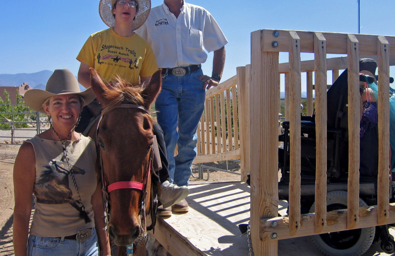 Accessibility at Stagecoach Trails Guest Ranch.