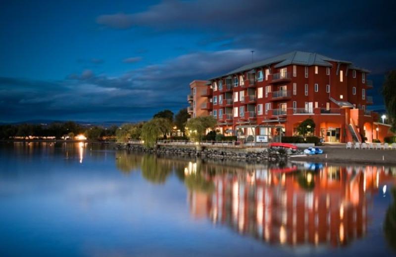Exterior view of Manteo Resort Waterfront Hotel & Villas.