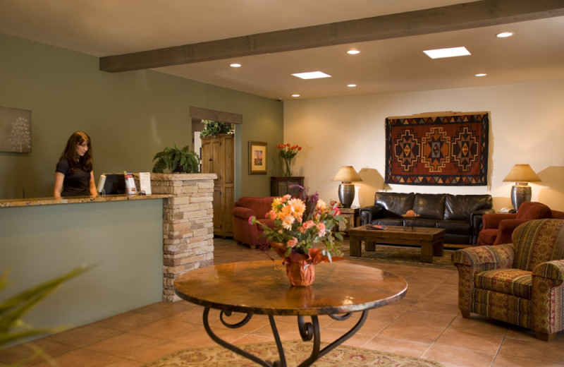 Lobby Area at Santa Fe Sage Inn