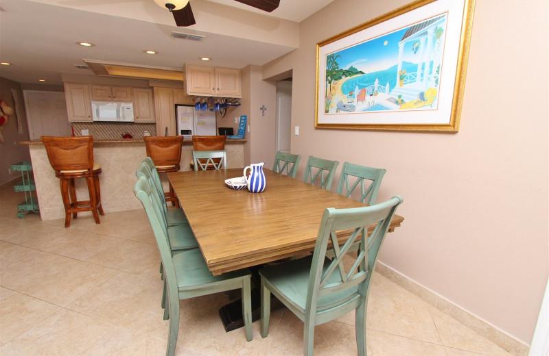 Rental kitchen at Seabreeze I.