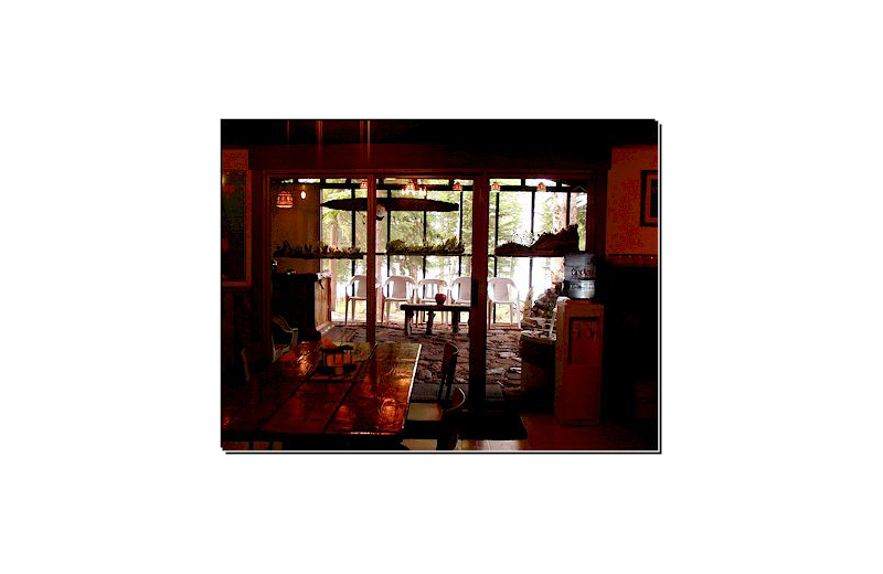 Lodge interior at Pine Point Lodge & Outposts.