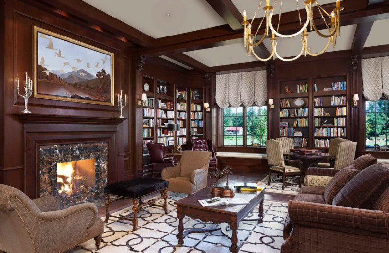 Library at Salamander Resort & Spa.