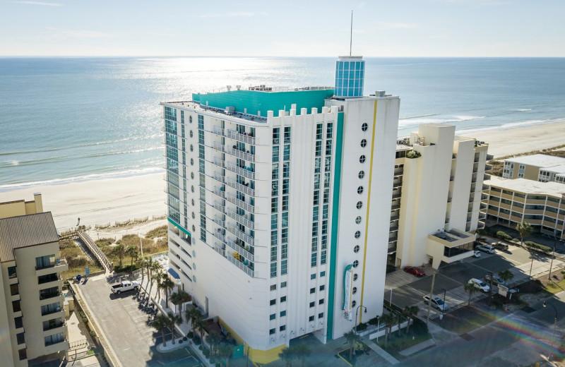 Exterior view of Seaside Resort.