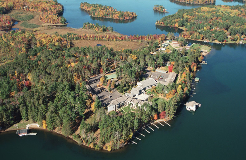 Aerial view of The Beacons of Minocqua.