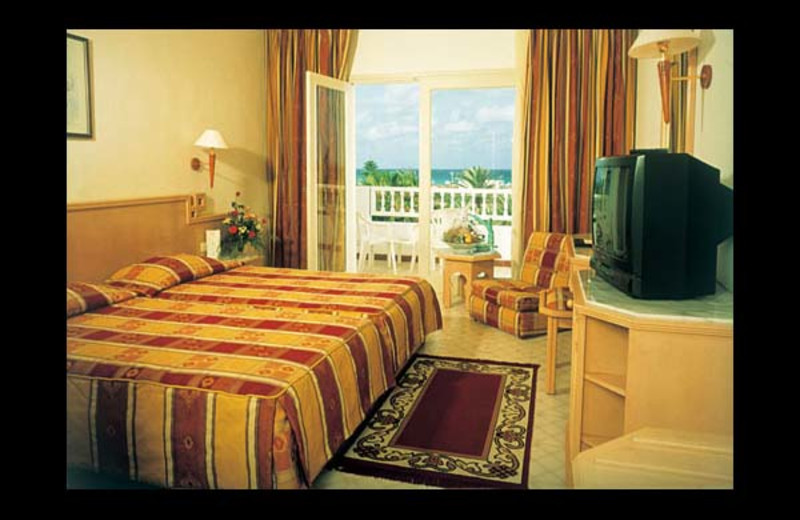 Guest room at Abou Nawas Djerba.