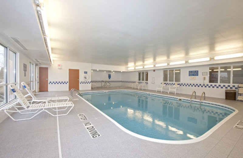 Indoor pool at Fairfield Inn Saginaw.