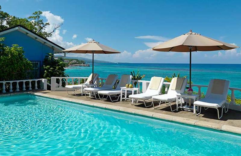 Outdoor pool at Jamaica Inn.