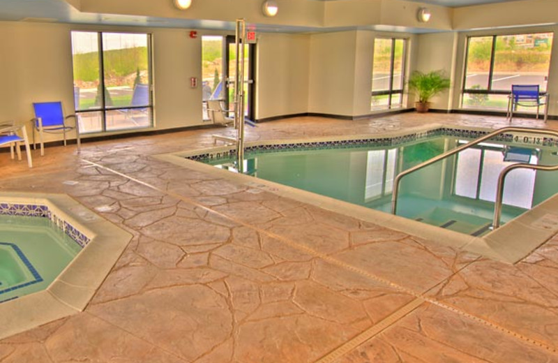 Indoor Pool at TownePlace Suites Scranton Wilkes-Barre