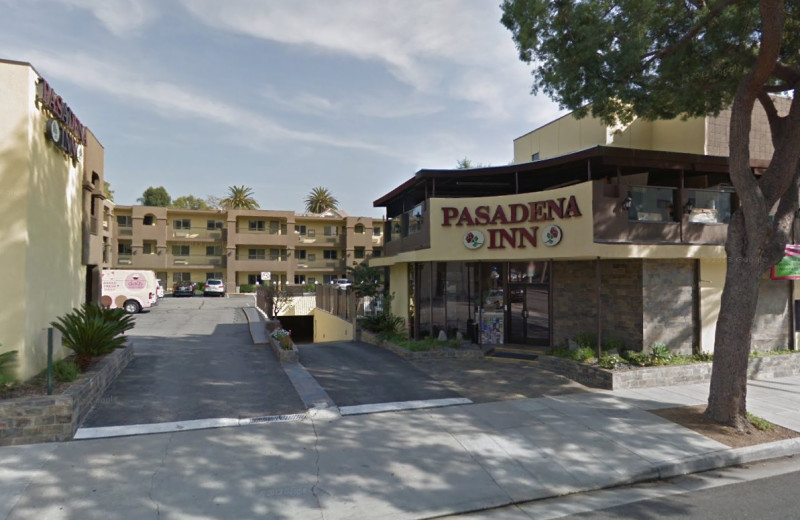 Exterior view of Pasadena Inn.