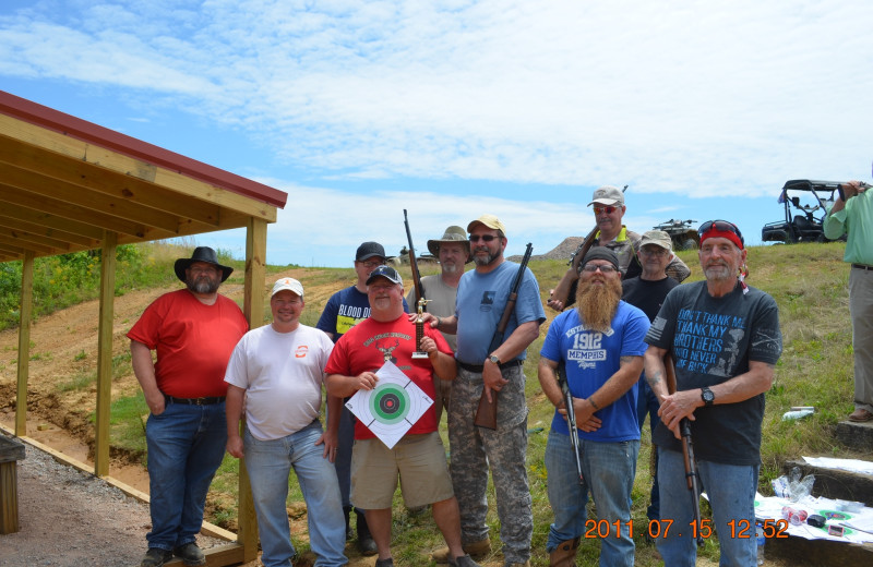 Groups at Big Buck Resort.