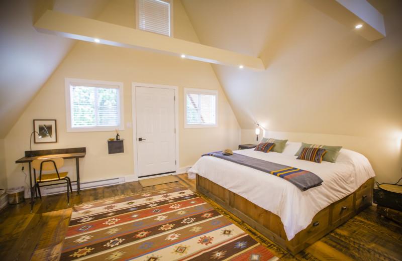 Guest room at Skeena Spey.