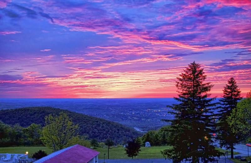 Sunset at Summit Inn Resort.
