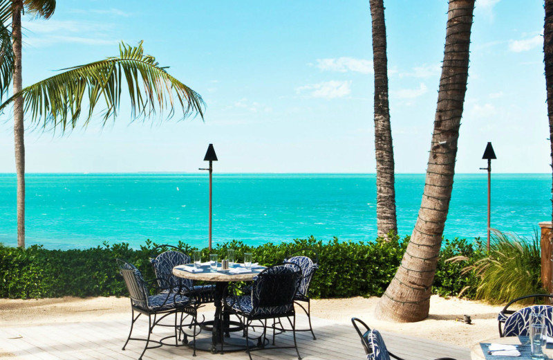 Patio at Sunset Key Guest Cottages, a Luxury Collection Resort.