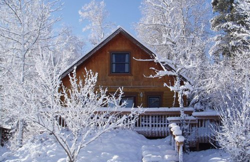 Winter lodging at Timber Trail Lodge & Resort.