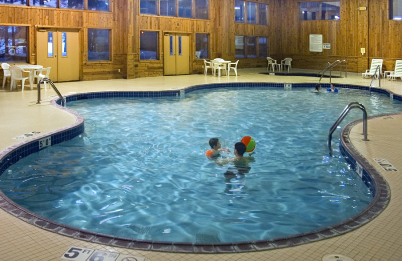 Indoor pool at The Beacons of Minocqua.