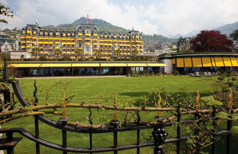 Exterior view of Le Montreux Palace.