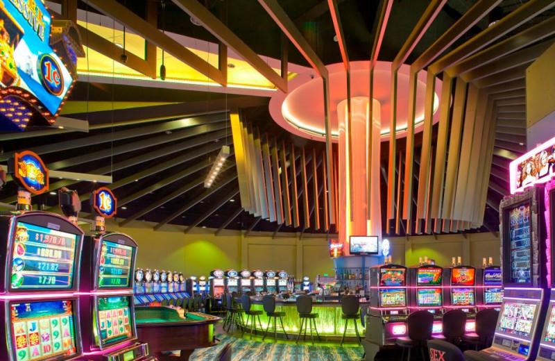 Slot machines at St. Croix Casino & Hotel.