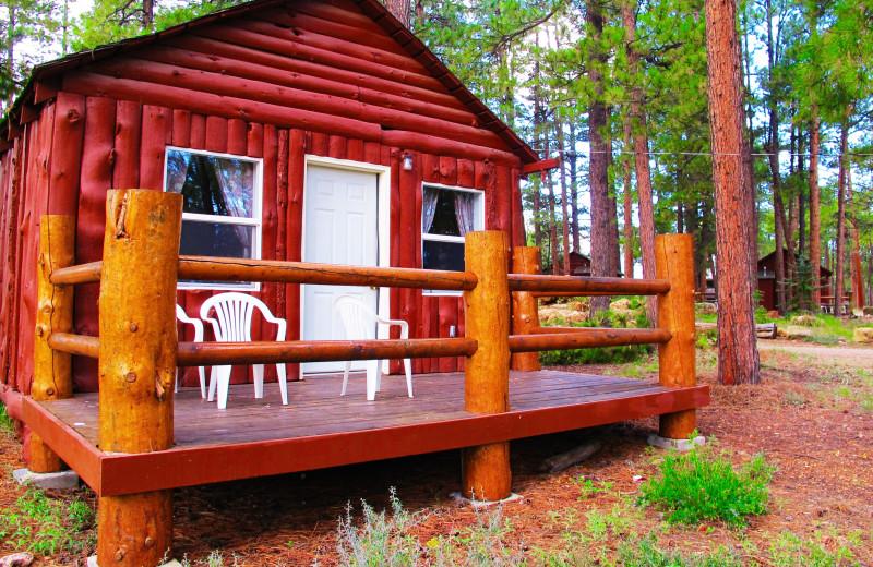 Cabin at Jacob Lake Inn.