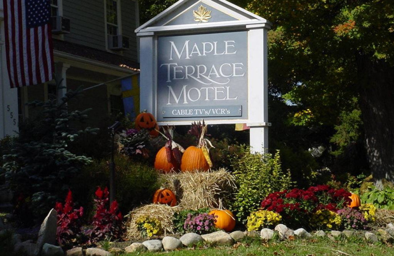 Welcome to Maple Terrace Motel.