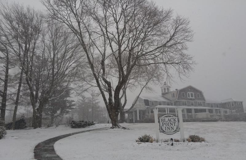 Winter at Grand Harbor Inn.