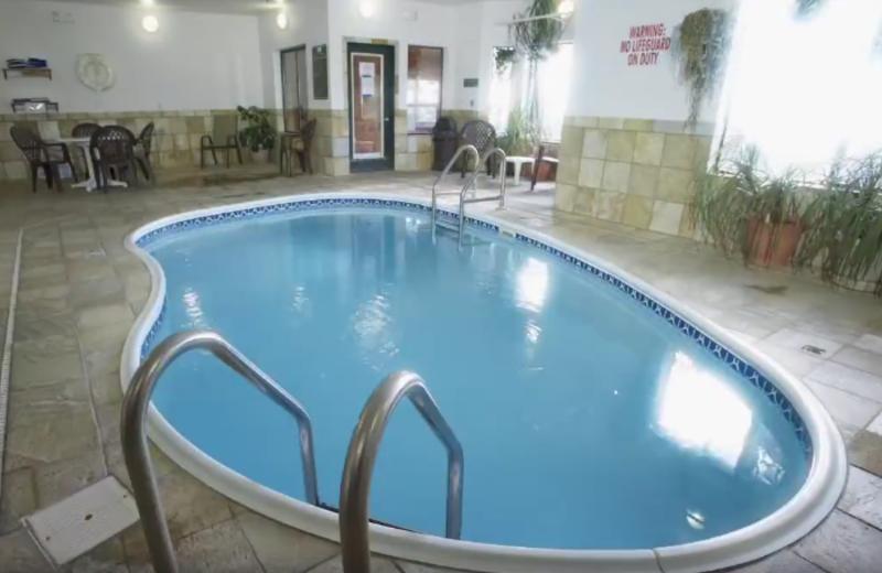 Indoor pool at Barefoot Resort.