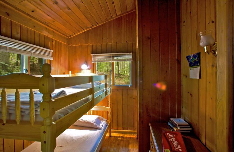 Cabin Bunk Beds at Montfair Resort Farm